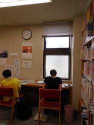 静かな環境で勉強や調べものを…
